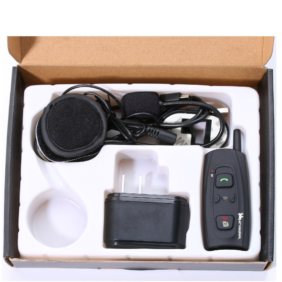 V2-1200 Earphone Motorcycle Intercom Bluetooth Helmet Headset 1000M 2 Riders Moto Communication BT Interphone Wireless Headphone-10