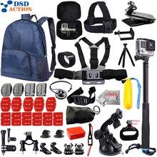 Equipment set bundle for go professional / Gopro hero 5 four three 2 package bag for SJ5000 / SOOCOO / Eken / xiaomi yi 4k digital camera 14Okay