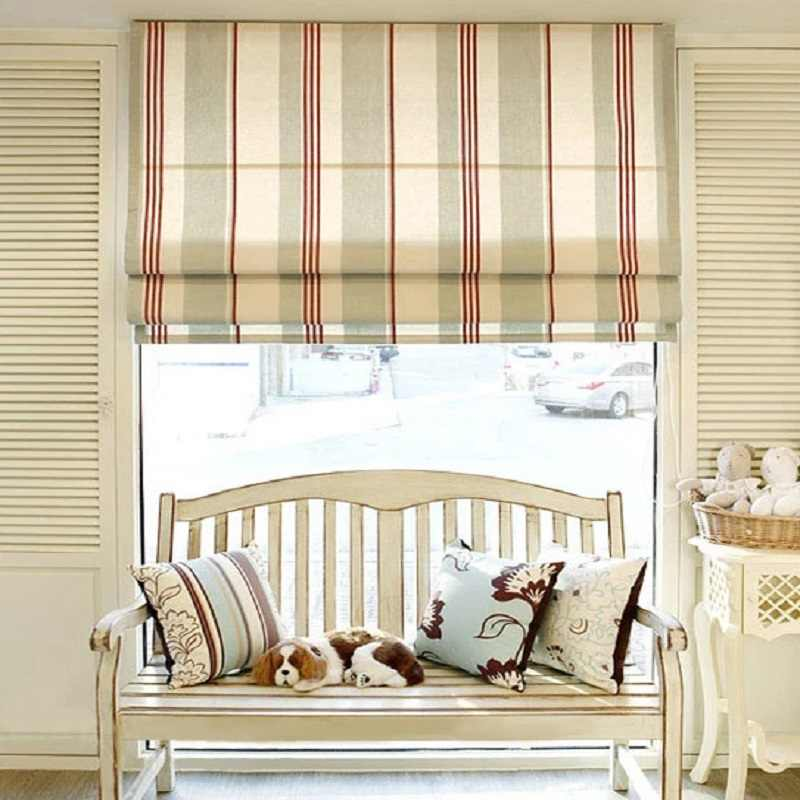 Popurlar blackout light filtering Roman Blinds Shades Curtain (Chain control)finished blinds,Customize sizes