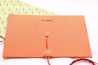 Funssor 110V 220V 600W 200X300mm Silicone Heater Pad Heating Mat For Reprap 3D Printer HeatBed With