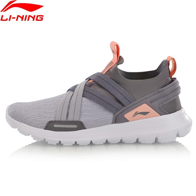 (Break Code)Li-Ning Women FLEXRUNNING V2 Smart Moving Running Shoes Cushion LiNing Li Ning Sport Shoes Sneakers ARKP002 XYP898