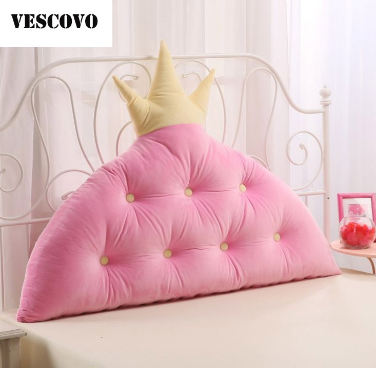 vescovo girls room bed wedge pillow for bed backrest cushion large waist