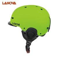 LANOVA Brand Skiing Helmet Children Men And Women 3 Feet CE Safety Standard Ski Helmet 2017