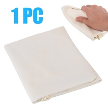 Mayitr High Quality 30*60cm Natural Shammy Chamois Leather Car Cleaning Towel Drying Absorption Washing Cloth