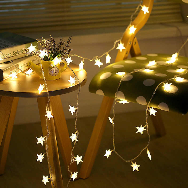 3m Sterne Led Saiten Draht Batterie Betrieben Weihnachten Hochzeit Party Dekoration Outdoor Party Suplies LED String Fairy Lichter