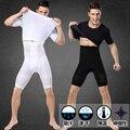 Los nuevos Hombres Pantalones de Fitness Pantalones de Modelar el Cuerpo Que Adelgaza La Talladora de La Manera Fajas Para Hombres M/L