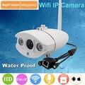 Câmera Ip à prova d' água IP67 ao ar livre IR cut cctv Casa SD card suporte para câmera ONVIF 2.0 720 P HD
