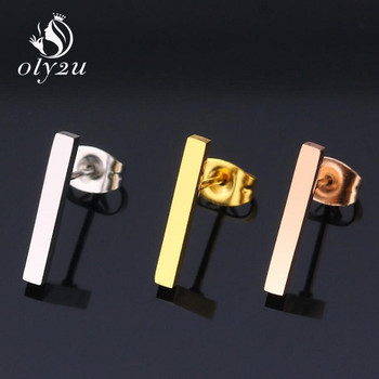 Oly2u Kpop Korean Fashion Bar Small Earrings Stainless Steel Earrings For Girls Ear Studs Man Women.jpg 350x350 - Oly2u Kpop Korean Fashion Bar Small Earrings Stainless Steel Earrings For Girls Ear Studs Man Women jewelry and Accessories