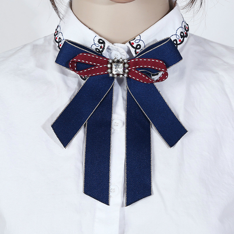 New Fashion Necklace Bow Tie Costume Decoration Important Occasion