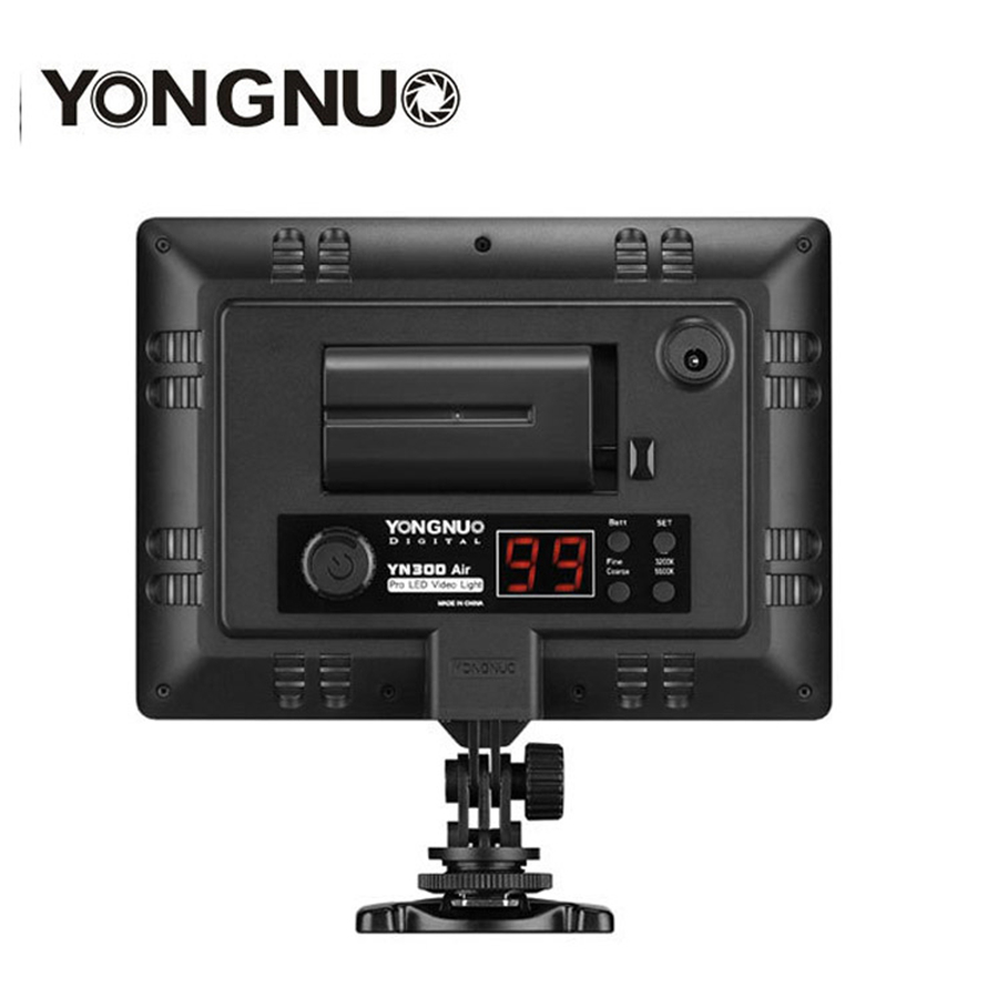 YONGNUO-YN300-Air-3200k-5500k-YN-300-air-Pro-LED-Camera-Video-Light-with-NP-F750 (5)
