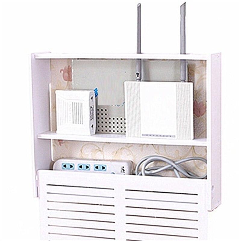Creative blindage routeur salon cintre piles cache prise multifonctionnel collection TV set-top box armoire de rangement rack