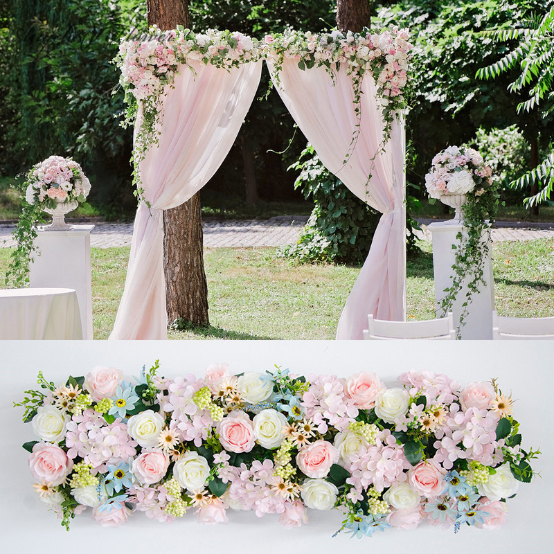 Wedding Arch Flowers Diy