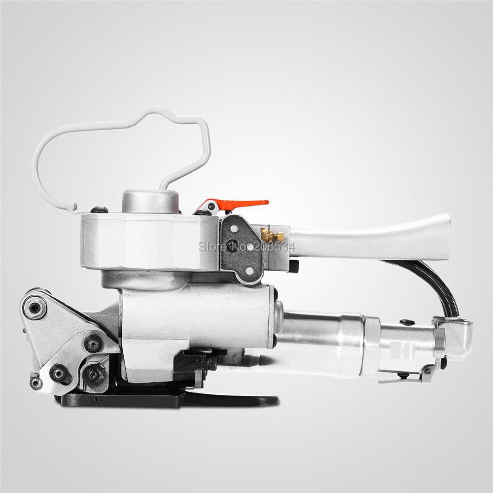 4pcs/lot AQD-19 Pneumatic Plastic Strapping Tool Banding Machine PET/ PP Width 13-19mm Carton Friction Packing