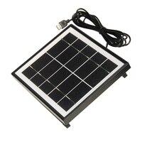 5.5 ワットソーラー充電器携帯電話 + usb 出力 + 高品質モノラルソーラーパネル太陽電池充電器パワーステーション