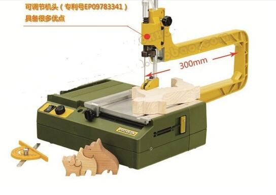 PROXXON scroll sweep jig saw, woodworking tool, student lathe купить