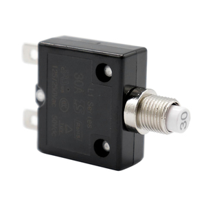 Image 2 - 1 Pcs 30A Circuit Breaker 12V/24V Push Button Resettable Thermal Circuit Breaker Panel Mount For Auto/Industrial/Marine Etc