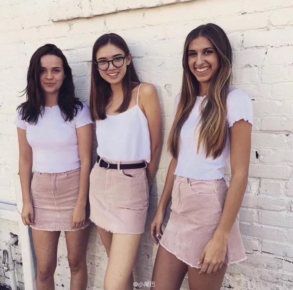 HTB1DVl3SFXXXXXjXXXXq6xXFXXXC - Pink pencil skirt zipper mini skirts womens PTC 201
