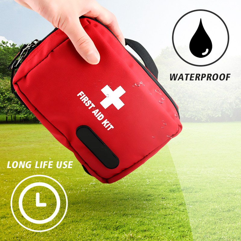 Safurance Outdoor Tactical Emergency Medical First Aid Pouch Bags Survival  Pack Rescue Kit Empty Bag Treatment Pack 1126ea10d82a1