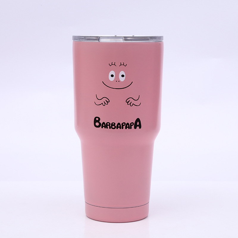 30oz <font><b>20oz</b></font> 10oz barbapapa Tumbler Cup Vacuum Insulation Beer Wine <font><b>Mug</b></font> Stainless Steel <font><b>Mug</b></font> Coffee Cu image
