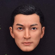 Hu Ge Head Sculpt 1/6 Scale Chinese Handsome Star Head Model for 12inch action figure toy collection jean claude van damme 1 6 scale male soldier head sculpt kungfu star resin carving model for 12inch action figure toy mnotht m3n