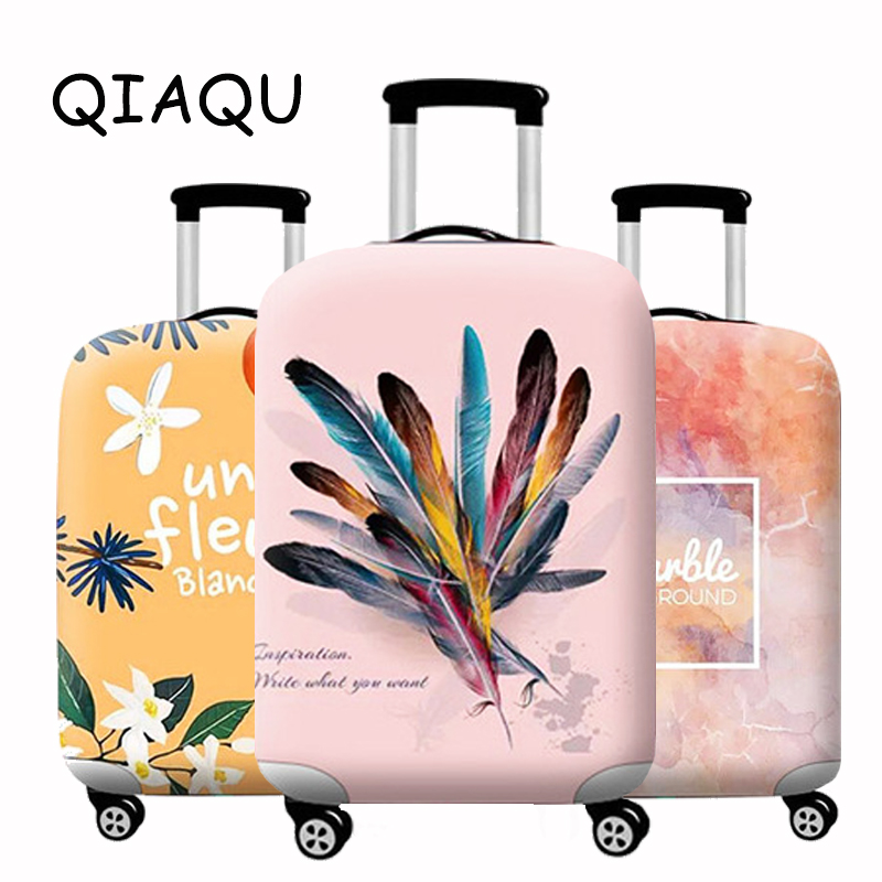 Elastic Suitcase Luggage Case Cover Trolley Baggage Dust Protective Cover 18-32 Inch Suitcase Case Cover Dust Travel Accessories