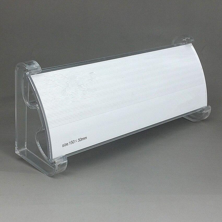 இAcrílico transparente de plástico Pantalla de papel Tarjeta de ...
