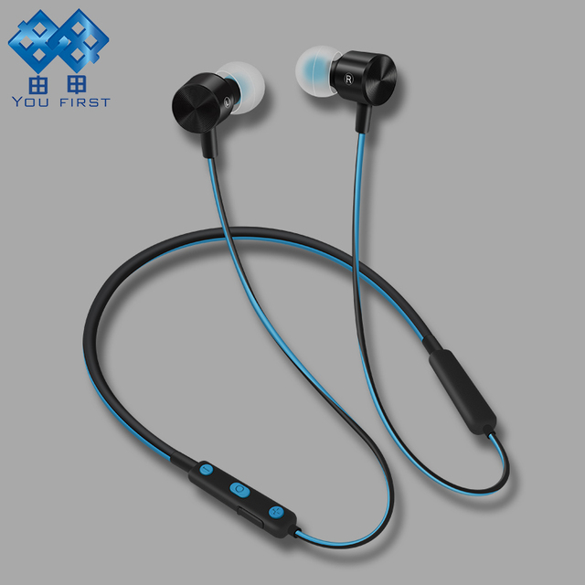 YOU FIRST Stereo Bluetooth Headset Wireless Sport Running Bluetooth Earphone Sport Wireless Headphone Hands Free With Microphone