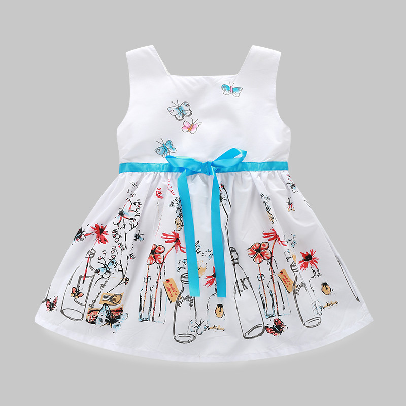 Baby Girls Clothes Summer Unicorn Dress Costume For Kid Clothing 2018 Children Party Dresses Cartoon Girl Clothes Princess Dress azel elegant latest new child dress for 2 3 year old girls vestidos fashion summer kid clothing little girls daily clothes 2017