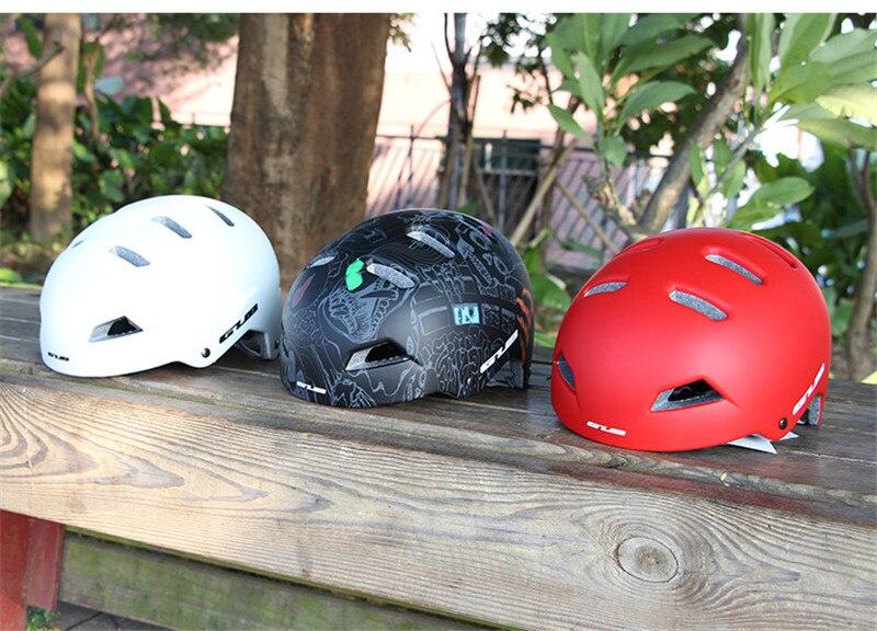 GUB VTT casque d'équitation planche à roulettes escalade Rafting ultraléger sauvetage casque de sécurité 56-61 cm EPS cap corps + PC Shell casque