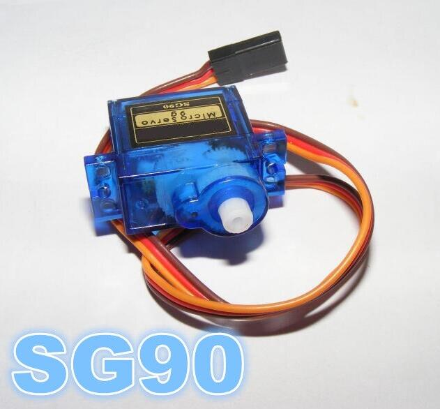 4 unids/lote Digital Micro Servos SG90 9g para RC Barco Del Plano Del Coche Engr