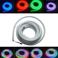 5m/Roll High quality DC12V 60led/m WS2811 flex neon digital RGB dream color LED pixel light