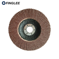10pcs 80 Grit 125 22mm For Deburring Metalwork Angle Grinder Sanding Flap Wheel Disc 80 For