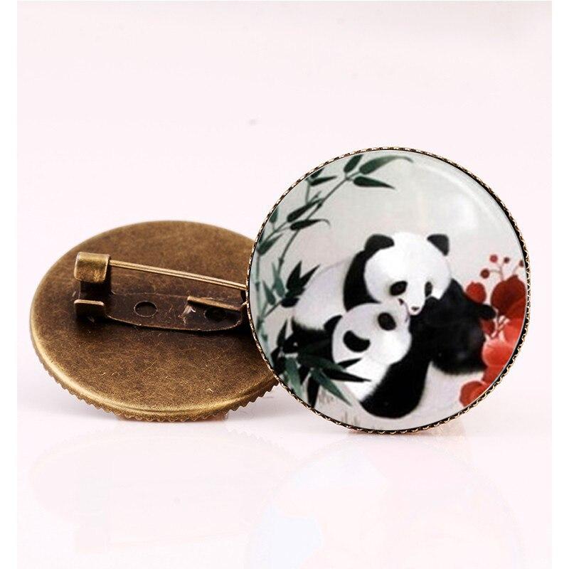 SUTEYI Beautiful Panda/dog brooch jewelry fashion simple design supernatural accessories steampunk cat animal brooches pins gift