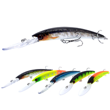 WLDSLURE 1PC Minnow Fishing Lure 150mm/16g  Crankbait Artificial Hard Bait peche Bass Pike Wobbler Long Tongue Minnow