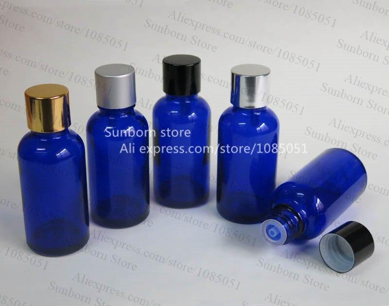 c9e3c0d589cb9 10X30 cc niebieski olejki butelki oleju, 30 ml niebieski szklanej butelce z  kroplomierzem włożyć i zakrętką, butelki kosmetyczne
