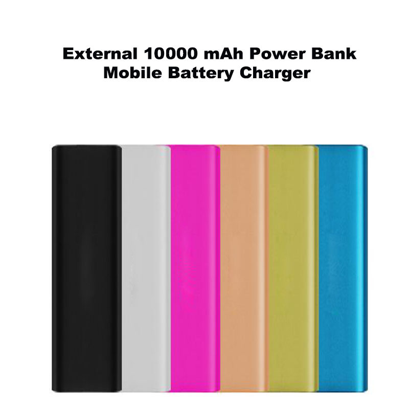 Kailiya Technology External 10000 mAh Power Bank Mobile Battery Charger For iPhone 4 5 5s 6/ Samsung/XIAOMI/Huawei/HTC/LG/Tablet