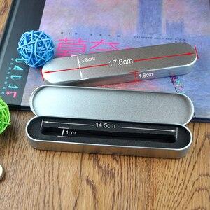 Image 4 - 100 pcs/lot Luxus stift fall für kristall stift geschenk box für bleistift kann für werbe kristall stift geschenk fall stift box