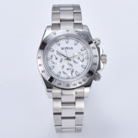 Men's new 39mm watch automatic movement 316L stainless steel case bracelet beautiful gift sapphire crystal 545