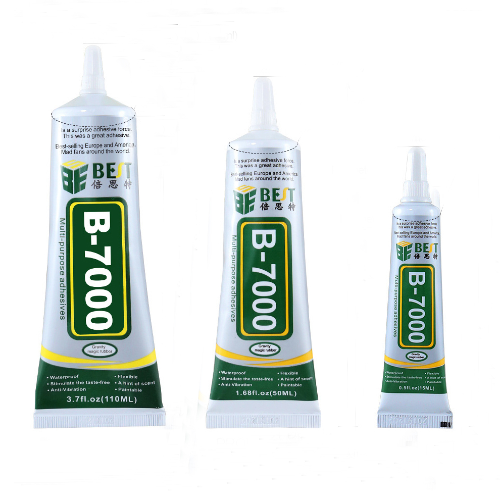 B-7000 Super Glue Epoxy Resin Adhesive Glue Jewelry Rhinestone DIY Crafts  Glass Touch Screen Adhesive for Phone Tools          B-7000 Super Glue Epoxy Resin Adhesive Glue Jewelry Rhinestone DIY Crafts  Glass Touch Screen Adhesive for Phone Tools