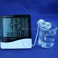 Hot Digital Thermometer Humidity Meter 50C 70C HTC 2 With Dual Sensors LCD Digital Thermometer Hygrometer