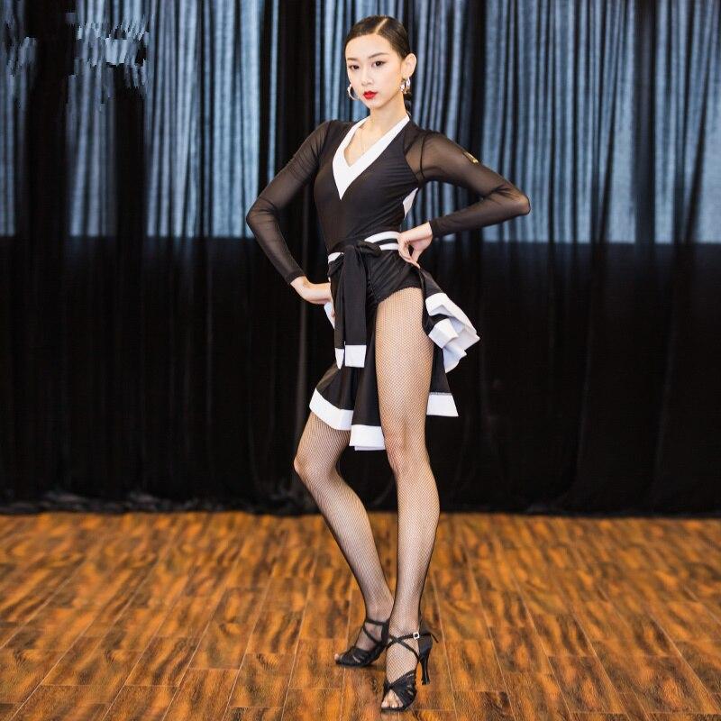 Adulte Latin danse robe femme 2018 nouveau Costume Samba Latin Ballroom Costume Tango danse robes Salsa danse vêtements pour femmes