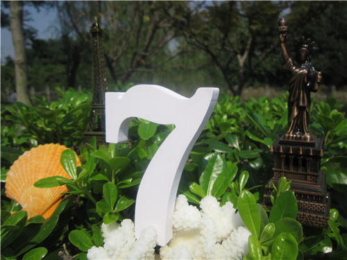 Tuba size  15cm 1pcs Home Decorations Artificial Wood White Letters wooden Letters of Wedding Birthday wedding decorations Gifts 6