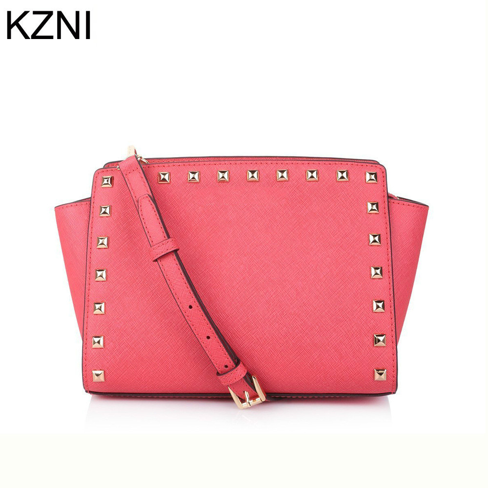 ФОТО KZNI genuine leather women bags designer handbags high quality handbag carteras mujer marcas famosas cuero genuino L031321