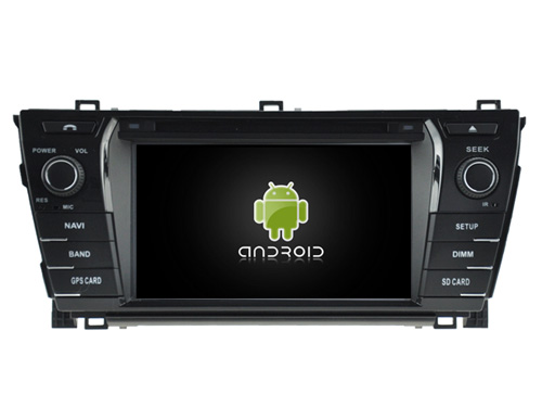 Android 7.1.1 2GB ram car dvd Audio player FOR TOYOTA COROLLA 2014 2015 auto radio stereo 3G headunitS gps DVR tape recorder