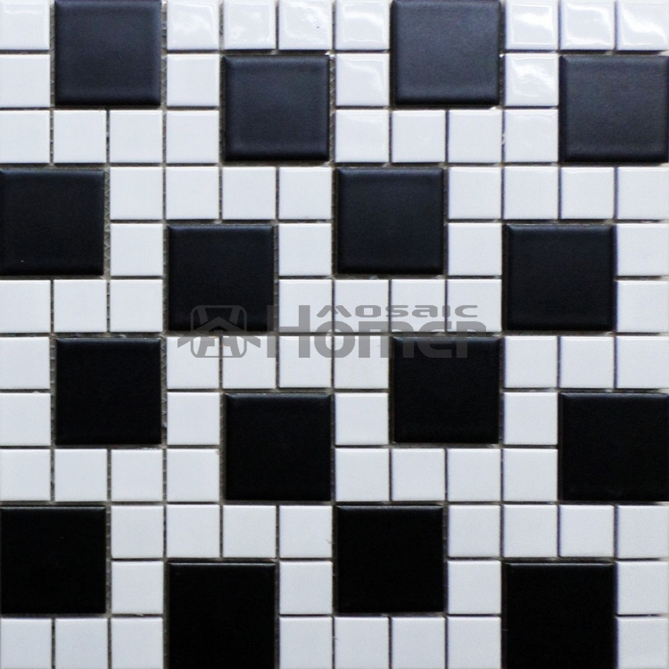 shipping free!! simple design black <font><b>and</b></font> <font><b>white</b></font> ceramic <font><b>mosaic</b></font> <font><b>tiles</b></font>, kitchen floor <font><b>mosaic</b></font> <font><b>tiles</b></font> bathroom shower <font><b>and</b></font> wall <font><b>tiles</b></font>