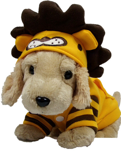 Собака желтый лев Morph костюм Товары для собак рождественских Пчелы Костюмы Одежда Собачка свитера щенок/большая собака пальто толстовки s ~ ...