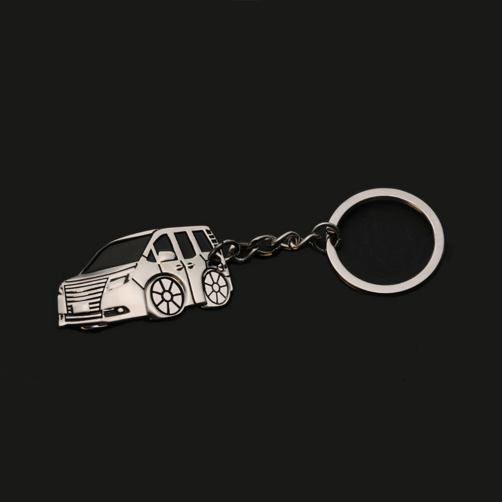 Nouveau 3D Conception de Zinc-Aluminium Alliage Porte-clés Porte-clés Porte-clés De Voiture Styling Accessoires Pour Toyota Noah/Voxy