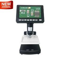 1000X цифровой микроскоп поддержка ТВ и ПК Подключение