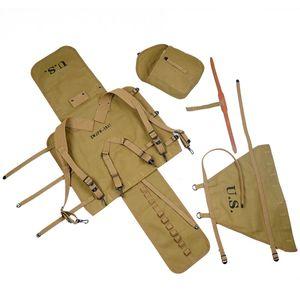 Image 4 - Repro WW2 abd ordusu M1928 sırt çantası açık sırt çantası kamp çantası yüksek kaliteli