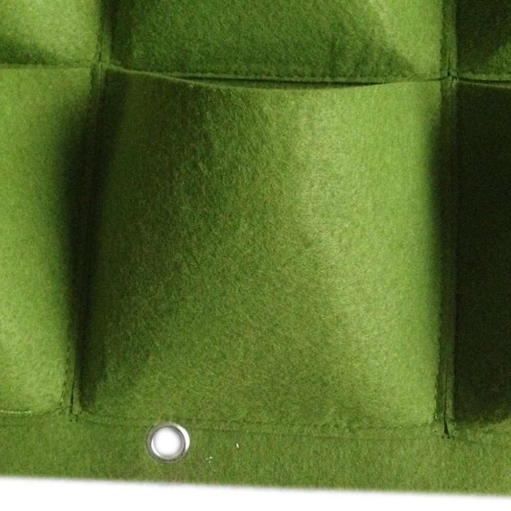 9 Túi Đơn Giản & Thiết Thực Dụng Cụ Bào Trên TREO TƯỜNG Thẳng Đứng Cảm Thấy Chậu Hoa Làm Vườn Vật Có Hoa Xanh Lĩnh Vực Phát Triển Hộp Đựng Túi